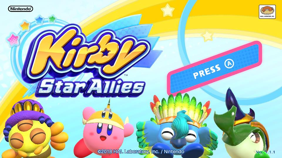 Review - Kirby Star Allies (Switch)