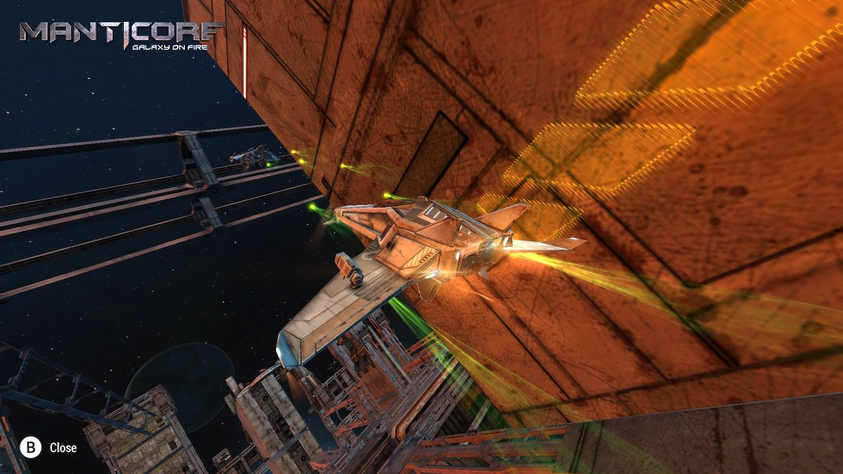 Review - Manticore: Galaxy on Fire (Switch)
