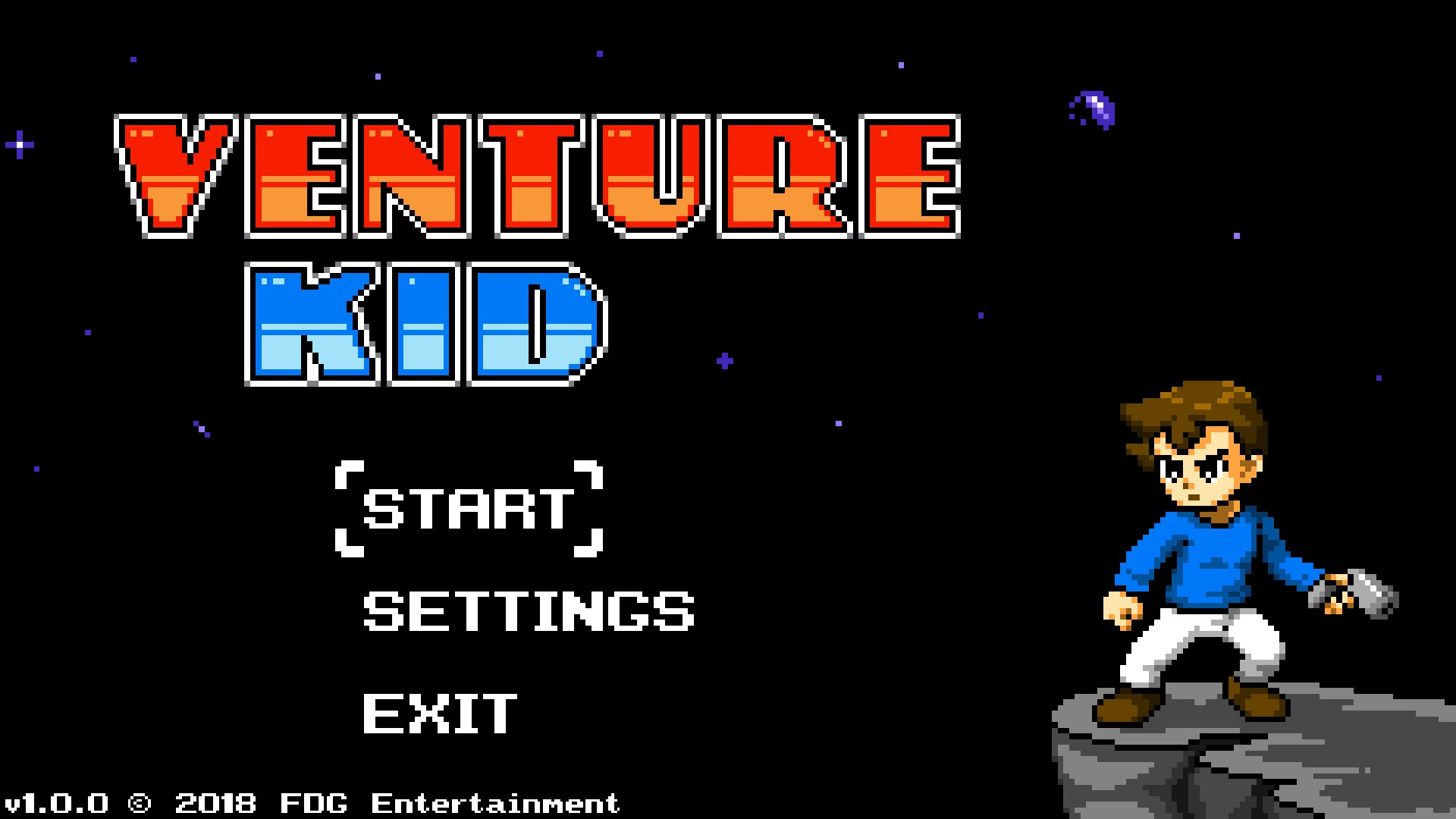 Review - Venture Kid (PC)
