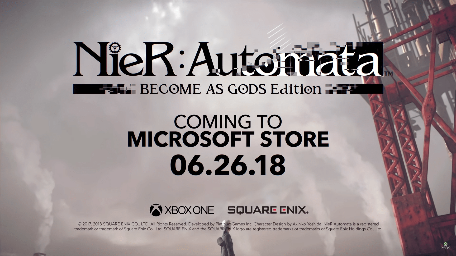 E3 2018 - Nier Automata: Become as Gods Edition