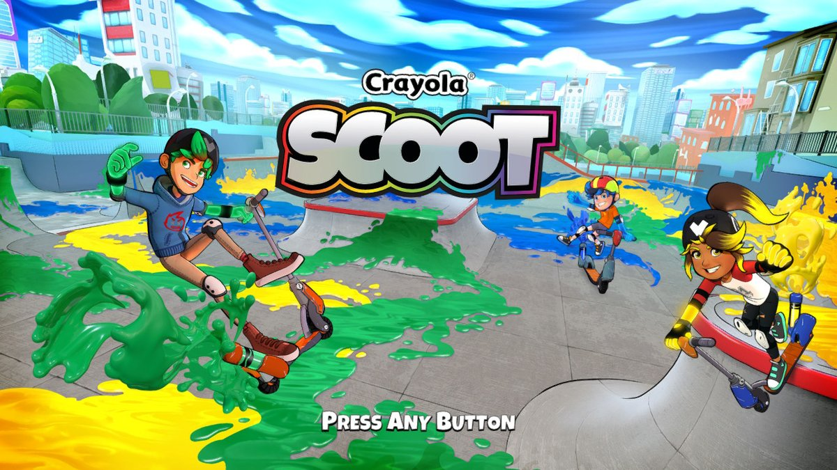 Review - Crayola Scoot (Switch)