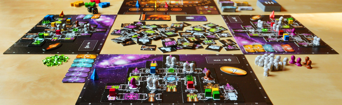Tabletop Review - Galaxy Trucker