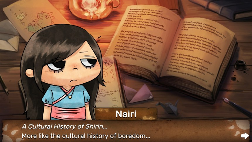 Nairi: Tower of Shirin Nairi