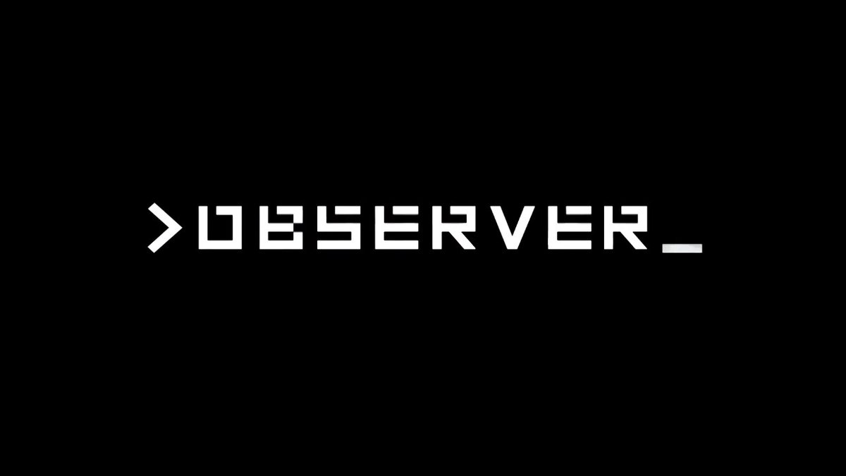 Review - Observer (Switch)