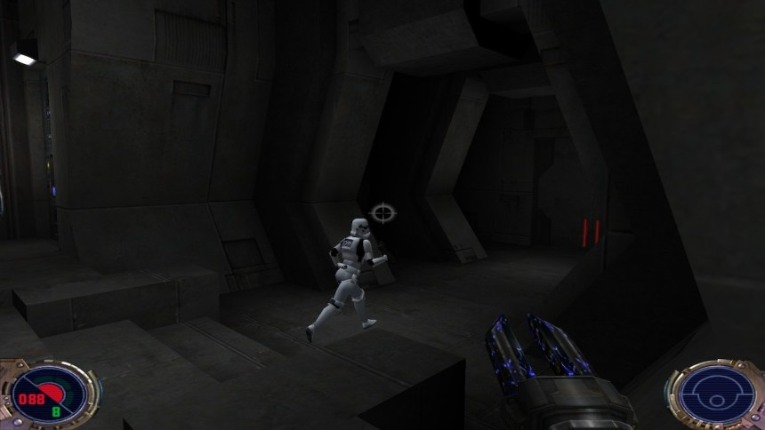 Jedi Outcast run