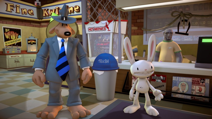 Sam & Max Save the World Remastered