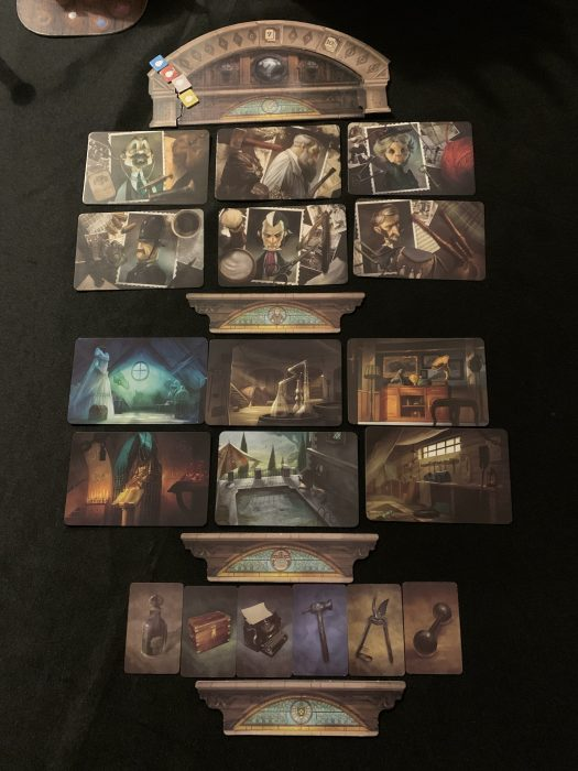 Mysterium Set Up