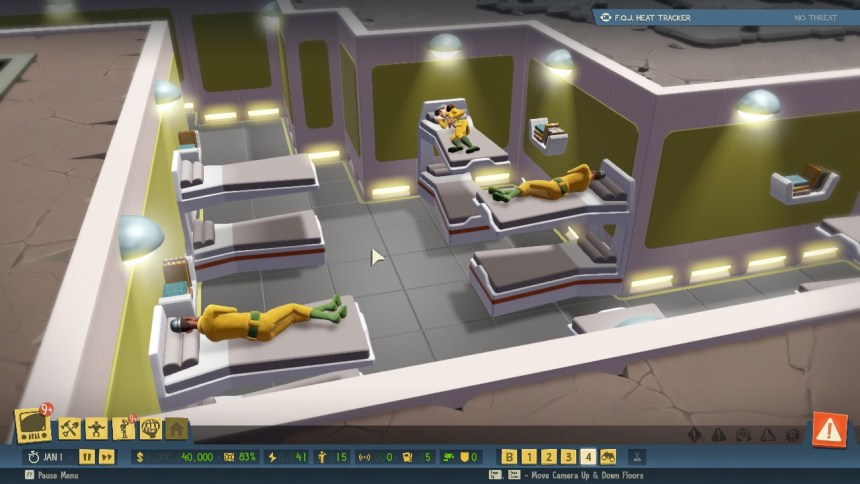 Evil Genius 2 Bunk beds