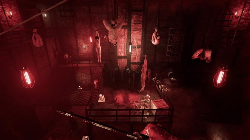 The Scarlet Lodge Bloodroom