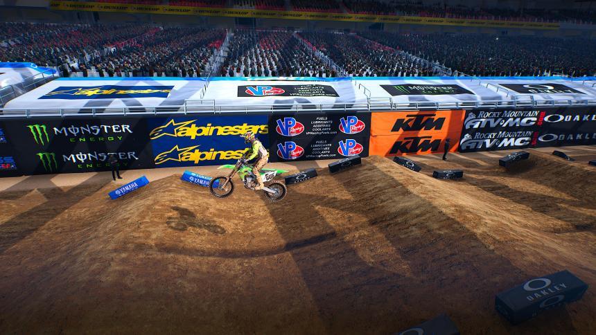 Monster Energy Supercross 4 Sponsors