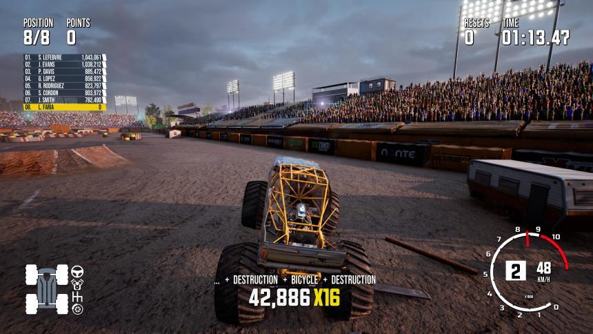 Monster Truck PS5 Tricks