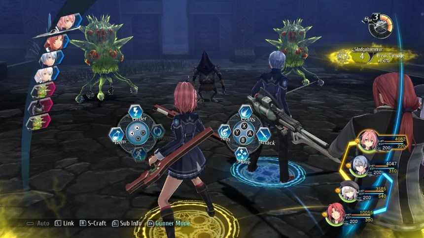 Trails of Cold Steel IV Combat