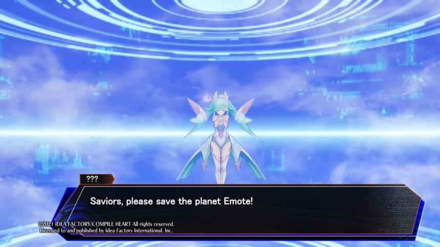 Neptunia Virtual Stars Emote