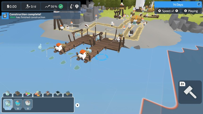 The Colonists Fishing