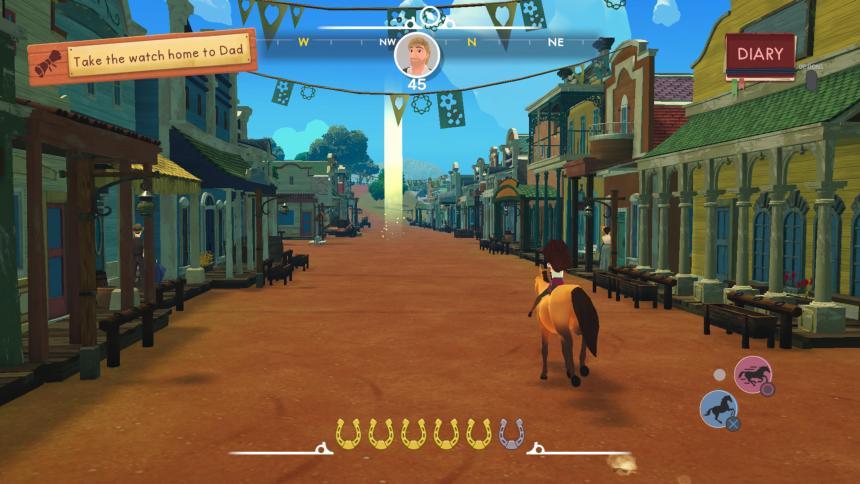 Spirit: Lucky's Big Adventure Riding