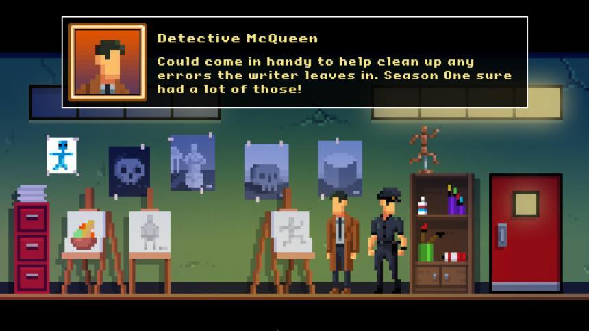 The Darkside Detective: A Fumble in the Dark Meta Humor
