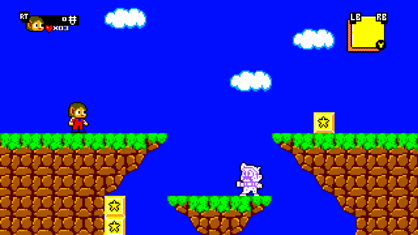 Alex Kidd in Miracle World DX Master System