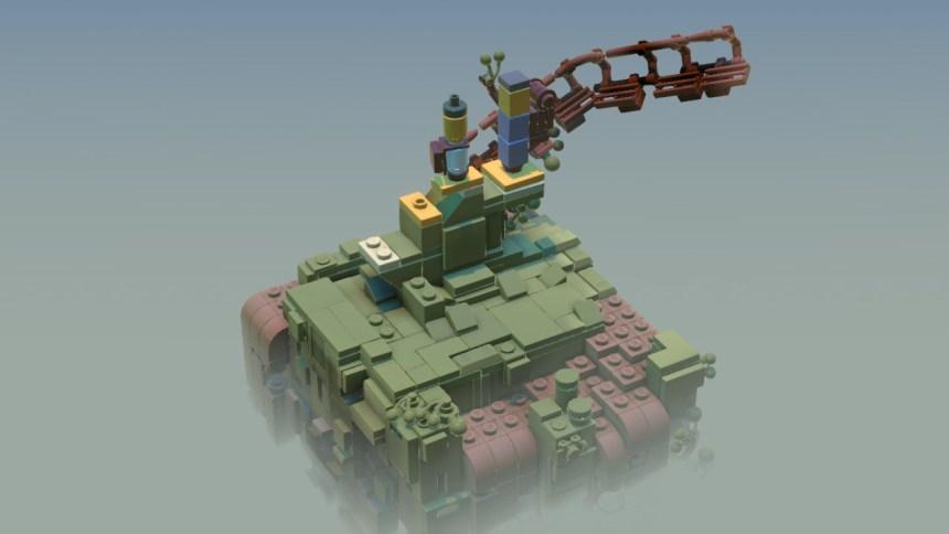 Lego Builder's Journey UI