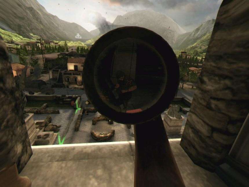 Sniper Elite VR Scope