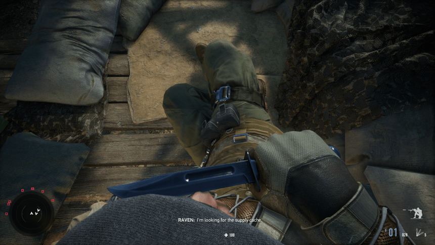 Sniper: Ghost Warrior Contracts 2 Interrogation