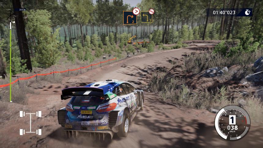 WRC 10 Graphics