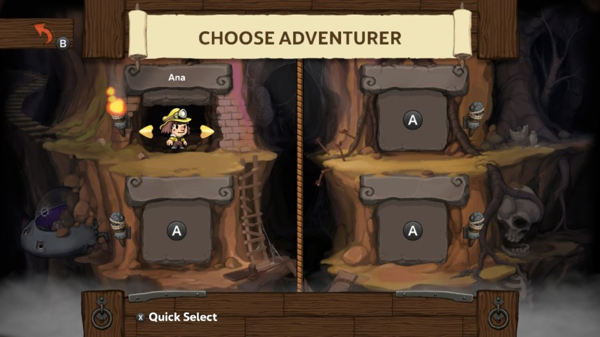 Spelunky 2 Character Select