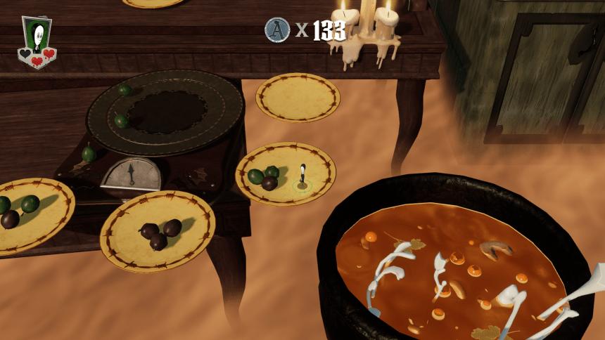 Mansion Mayhem Rotten Food