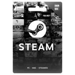 99 INR Steam Wallet Code | Buy 99 INR Steam Wallet Code