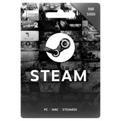 5000 INR Steam Wallet Code | Buy 5000 INR Steam Wallet Code