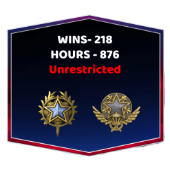 2 Medals CSGO Unrestricted Account