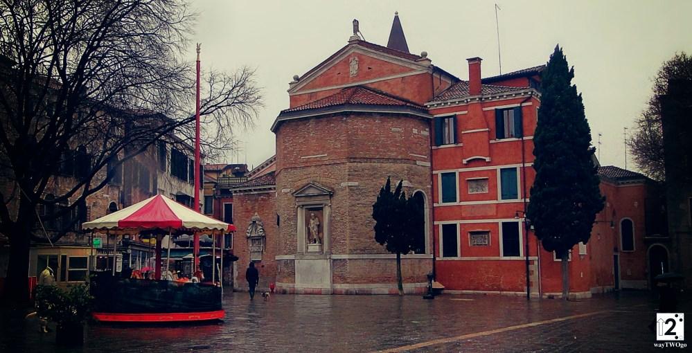 Rainy Square