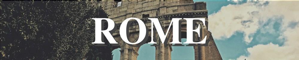 ROME main menu