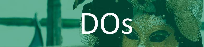 La Donna D'Oro - banner - green