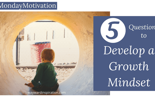 5 Questions to Develop a Growth Mindset | Wayward Inspiration
