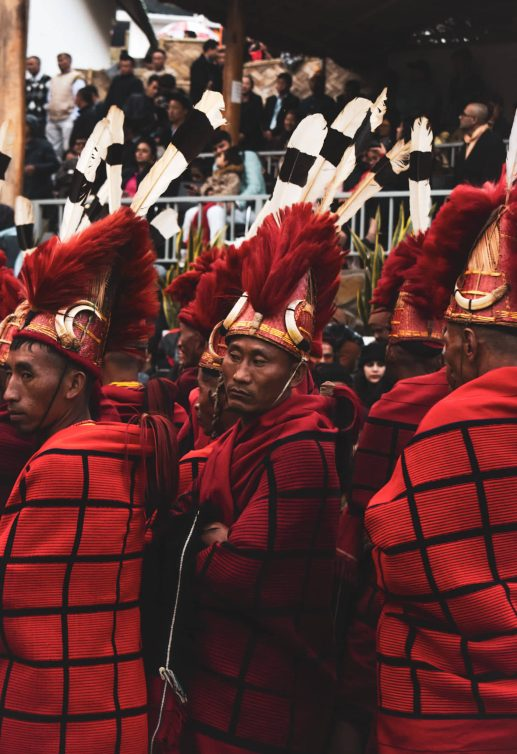 yimchunger tribe nagaland hornbill festival