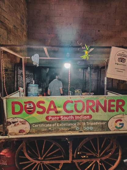 dosa corner best Jaisalmer food