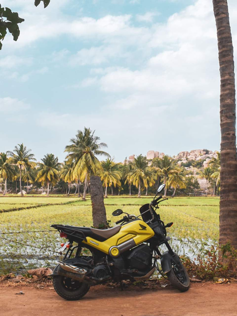 scooter hire in hampi