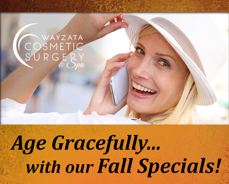 Age Gracefully with our October Specials!