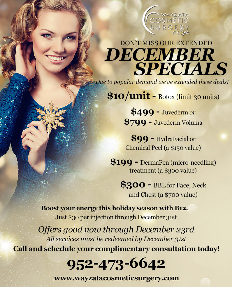 Prepare for a Sexy New Year with our December Specials!
