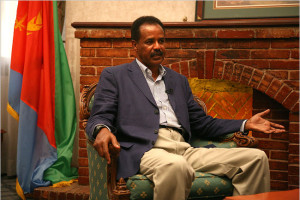 Eritrea President Isayas Afeworkie
