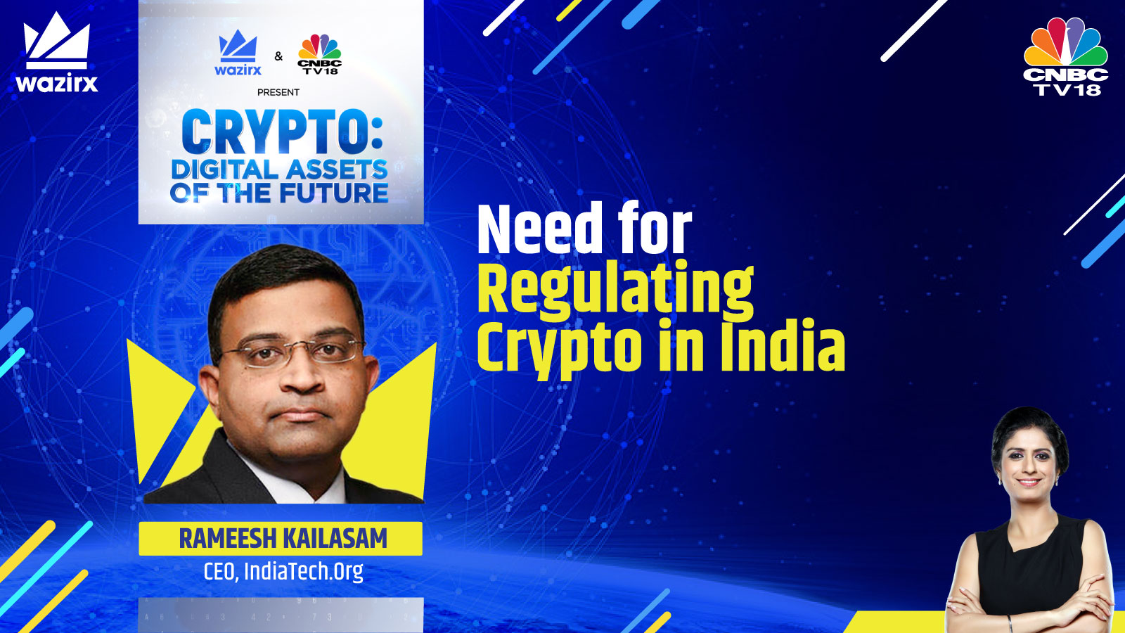 Rameesh Kailasam on Need for Regulating Crypto in India