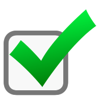 Image result for green check mark boxes transparent
