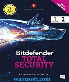 Bitdefender Total Security Crack 2022 wazusoft.com
