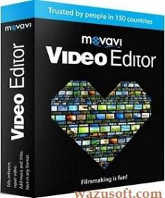 Movavi Video Editor Crack 2022 wazusoft.com