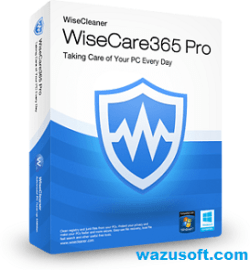 Wise Care 365 Pro Crack wazusoft.com