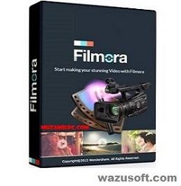 Wondershare Filmora Crack 2022 wazusoft.com