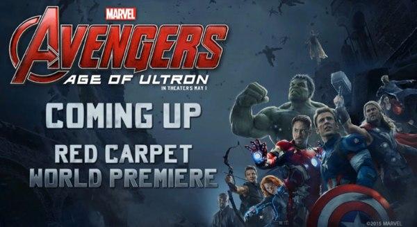 Avengers Red Carpet