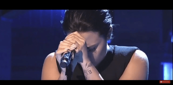 What an awesome performance by Demi Lavato on SNL