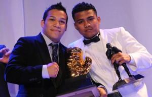 Todo un éxito la 19 Cena de Premiación de la AMB / Tyson Márquez y Yessica Bopp los boxeadores del año