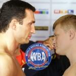 AMB llama a subasta Klitschko vs Povetkin